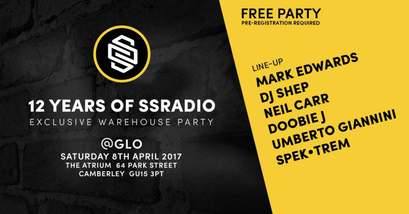 12 Years of SSRadio & Website Launch Party